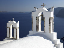 Island of Santorini - Greece Royalty Free Stock Photos