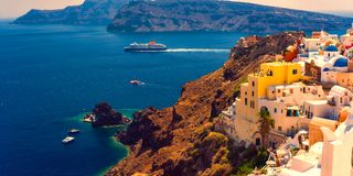 The Island Of Santorini. Stock Image