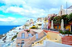 Island of Santorini , Greece Royalty Free Stock Photo