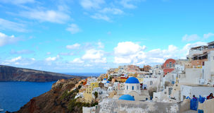 Island of Santorini , Greece Royalty Free Stock Photos