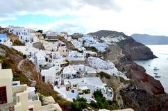 Island of Santorini , Greece Stock Photo