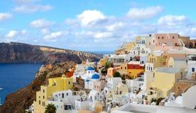 Island of Santorini , Greece Stock Photography