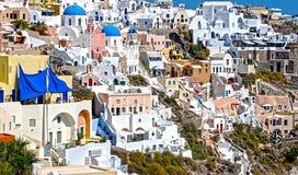 Island of Santorini, Greece Stock Images