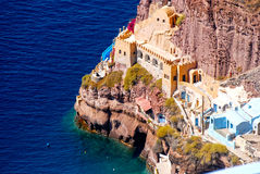 Island of Santorini, Greece Royalty Free Stock Photography