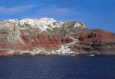 Island Santorini, Greece Royalty Free Stock Photography