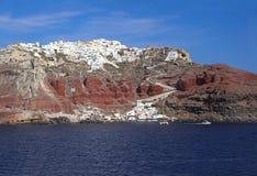 Island Santorini, Greece Royalty Free Stock Photography