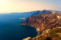 The Island Of Santorini. Royalty Free Stock Photos