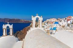 Island of Santorini, OIA Royalty Free Stock Photography