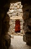 Island of Sardinia, Italy. Archaeological site Nuraghi of Barumini