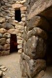 Island of Sardinia, Italy. Archaeological site Nuraghi of Barumini. Archaeological Ruins in Sardinia. Nuragic culture. Ancient stone circles and prehistoric stock photos