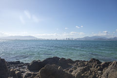 Island scenery of Southeast Asian Royalty Free Stock Photo
