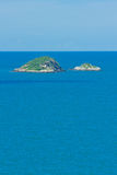 Island on sea Royalty Free Stock Photos