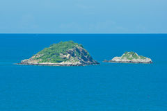 Island on sea Royalty Free Stock Photo