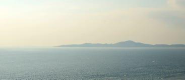 Island and sea Stock Photos