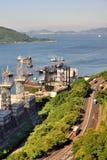 Island and sea around Hongkong city, 2016 Stock Photos