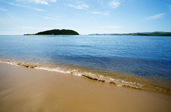 Island in Sea of Japan Royalty Free Stock Photo