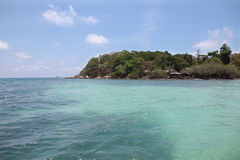 Island on the sea Royalty Free Stock Image
