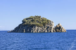 Island in the sea Royalty Free Stock Photo