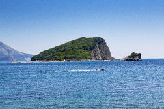 Island in the sea. Very beautiful island in the sea Stock Image