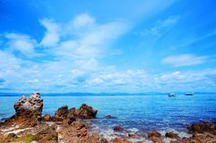 Island sea view Stock Photo