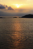 Island of the setting sun Stock Photography