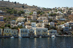 The island of Simi in Greece Stock Photography
