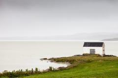 Island sjö Royaltyfria Bilder