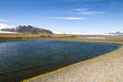 Island Skaftafell nationalpark Royaltyfri Foto