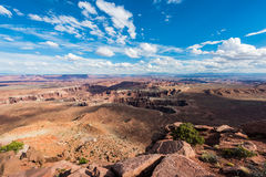 Island in the Sky Canyons in Canyonlands National Park, Utah Stock Photo