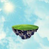 Island in sky Stock Photo