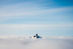 Island in the sky Stock Image