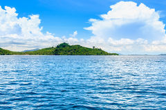 Island in the South of Thailand Sea, Andaman Sea, Indian Ocean Royalty Free Stock Photos