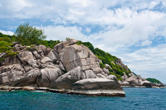 Island in southern Thailand. Stock Image