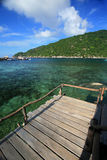 Island in southern Thailand, Koh Tao Stock Image