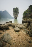 Island in southern of Thailand. Royalty Free Stock Photos