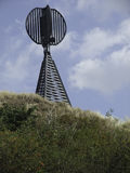 The island of spiekeroog Stock Image
