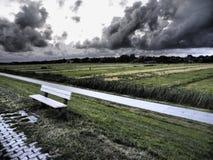 The island of spiekeroog Stock Photography