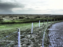 The island of spiekeroog Royalty Free Stock Photography