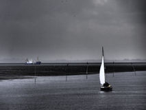 The island of spiekeroog Royalty Free Stock Photos