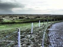The island of spiekeroog Stock Images