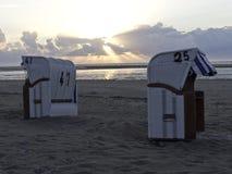 The island of spiekeroog Stock Photo