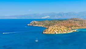 Island of Spinalonga, Crete, Greece Stock Photography