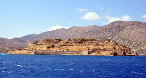Island - Spinalonga, Greece Royalty Free Stock Photo