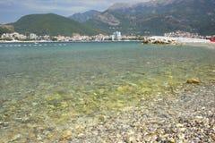 The island of St. Nicholas, Budva, Montenegro. Stock Photo