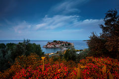 Island of St. Stefan. Montenegro Stock Photography
