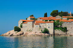 Island St. Stefan, Montenegro Royalty Free Stock Images