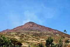 Island of Stromboli Royalty Free Stock Photography