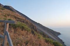 Island of Stromboli Royalty Free Stock Image
