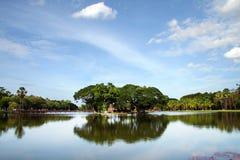 Island in Sukothai, Thailand Royalty Free Stock Image
