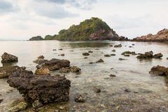 Island on summer in Thailand Royalty Free Stock Photography